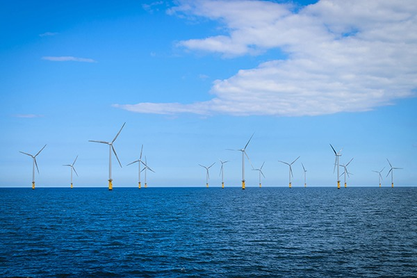 Offshore wind is one of the few industries earmarked for investment. Photograph: Nuttawut Uttamaharad/123RF