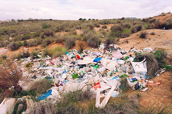 The number of high-risk illegal waste sites have risen steadily. Photograph: Pilens/123RF