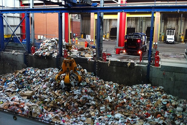 Western Riverside materials recovery facilities in London.