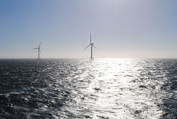 Cross-border cooperation in the North Sea could slash costs of offshore wind. Photograph: Volker Schlichting/123RF