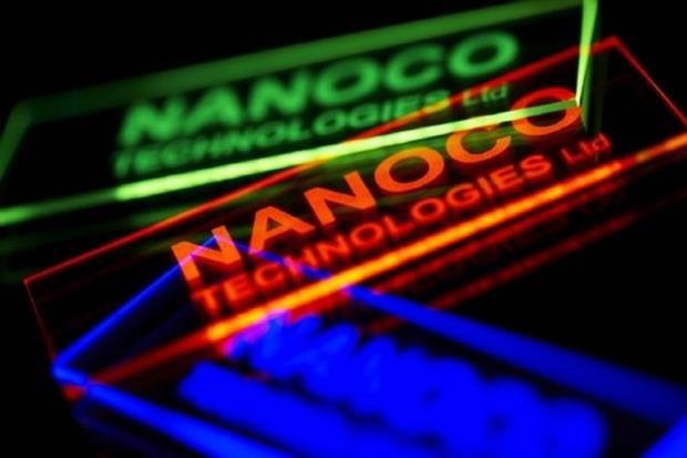 Nanoco's quantum dot display technologies are cadmium free. Photograph: Nanoco