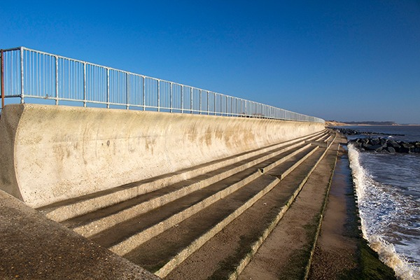 Actions in one sector, such as sea defences, can impact others. Photograph: Sue Chillingworth /123RF