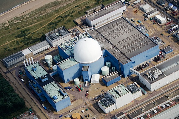 Sizewell B is one of eight nuclear power plants currently operational in the UK. Photograph: John Fielding/Flickr