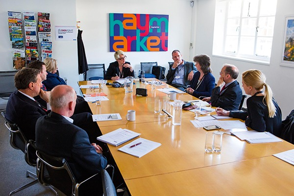 ENDS roundtable in May