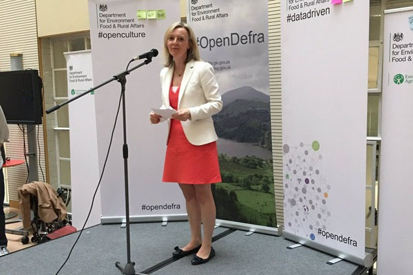 Liz Truss announced the data release at an event in London