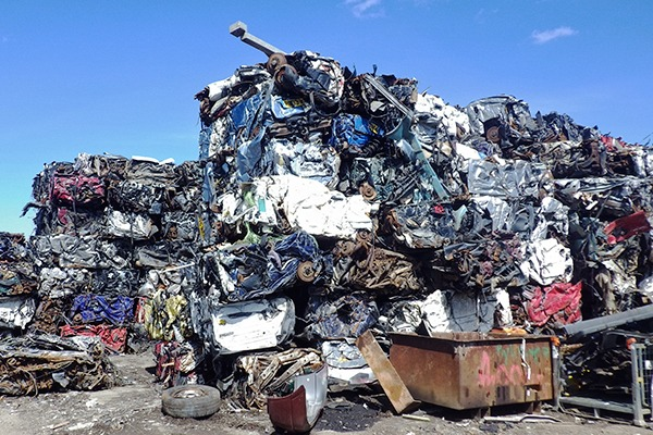 Armstrong continued storing scrap vehicles even though his permit had been revoked. Photograph: Environment Agency