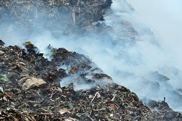 Measures should be taken to prevent waste fires for burning for longer than four hours. Photograph: Jaggat/123RF
