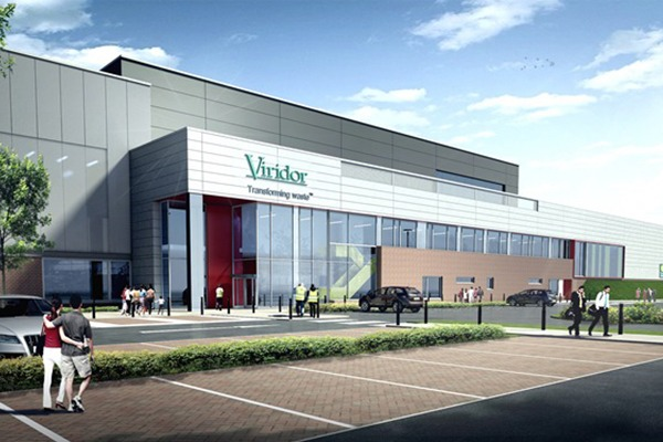 Artist's impression of the Glasgow Recycling and Renewable Energy Centre, which was due to open in early 2016. Photograph: Viridor