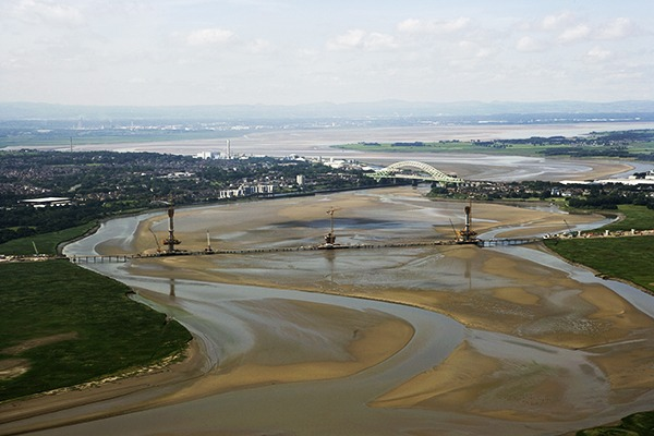 Aecom is working on the Mersey Gateway project. Photograph: Merseylink