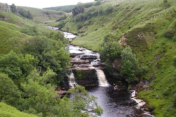 The River Irthingan is in a site of special scientific interest. Photograph: Fronſère/Wikimedia
