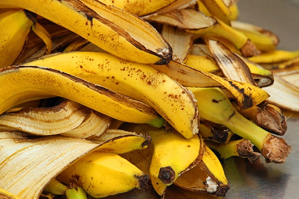 Banana peel is one of the wastes that could be used to cut the melting temperature of glass. Photograph: FedericoFoto/123RF