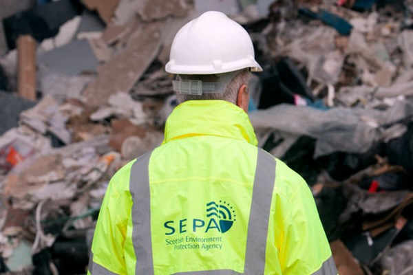 The Scottish Environment Agency is putting the final touches to its civil sanctions regime. Photograph: SEPA