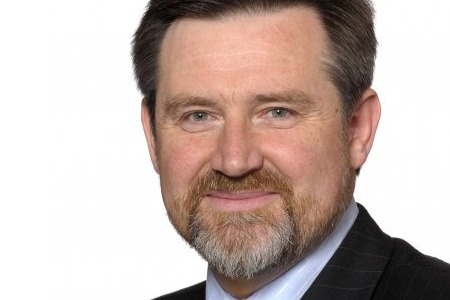 Barry Gardiner told a packed party conference that fracking would be banned under a Labour government.