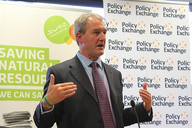 Former environment secretary Owen Paterson. Photo: Policy Exchange