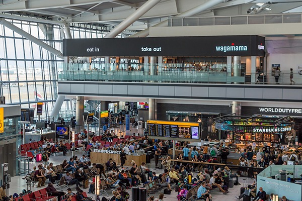 The government claims a third runway at Heathrow will connect the UK to long-haul destinations in growing world markets, boost trade and create jobs. Photograph: Giulio Jiang/Flickr