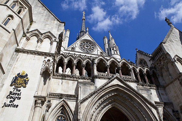 ClientEarth won another case against the government at the Royal Courts of Justice in London. Photograph: Chris Dorney/123RF