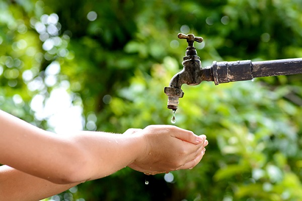 Water companies needs to reduce demand as areas become more water stressed. Photograph: 123RF