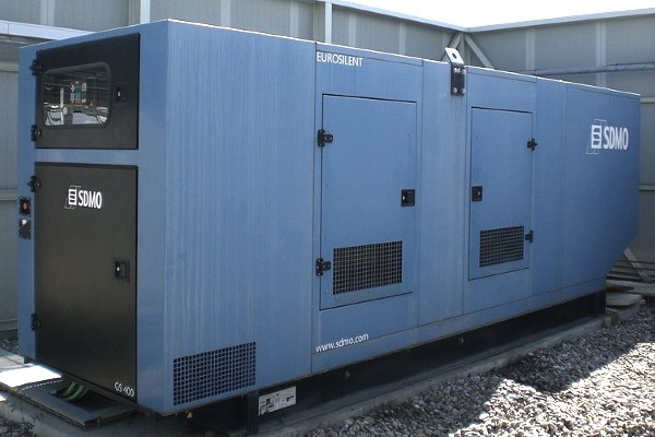 Generator sets such as these could need abatement systems added in London. Photograph: Lofor CC BY-SA 3.0