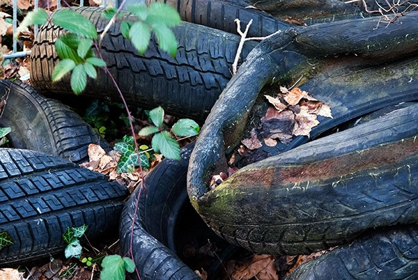 SEPA has recently attempted to crack-down on waste crime involving tyres. Photograph: Andrea Haase/123RF