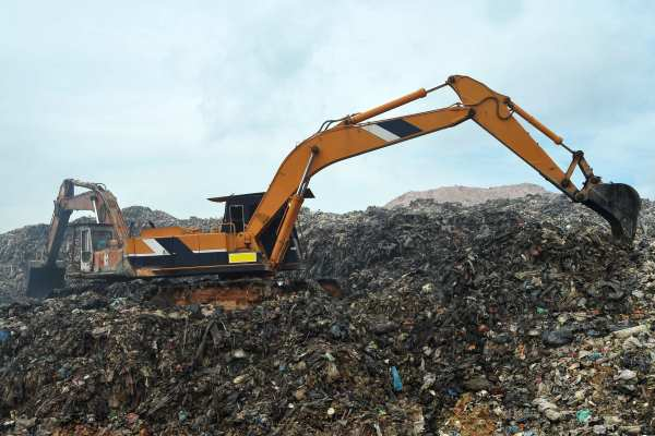 Waste used to temporarily cap landfill sites will still be taxable. Photograph: jaggat / 123RF