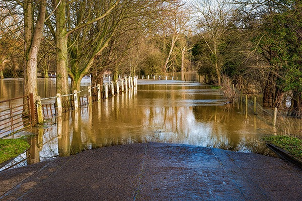 Over the last three years more properties have fallen into flood risk catergories. Photograph: Olan/123RF