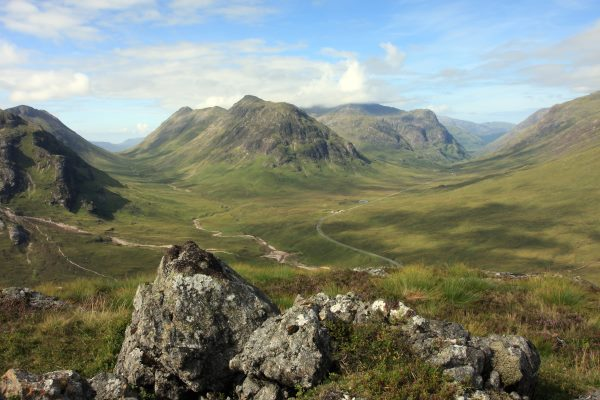 Glencoe in the Scottish Highlands. Photograph: jacameron / 123RF