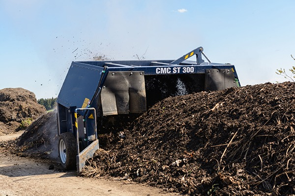 Open windrow composting