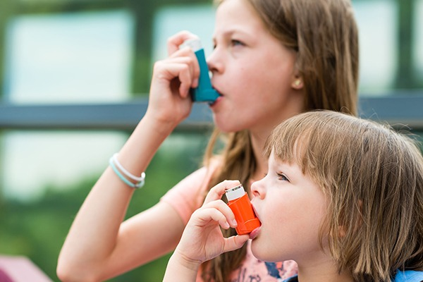 Air pollution has been found to increase the frequency of asthma attacks. Photograph: 123RF