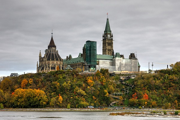 The Canadian parliament has yet to ratify the trade deal. Photograph: Senorgogo/123RF