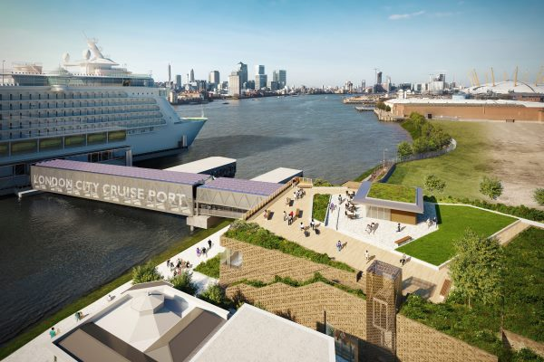The proposed London City Cruise Port