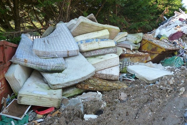 Waste dumped at Porthmadog Skip Hire