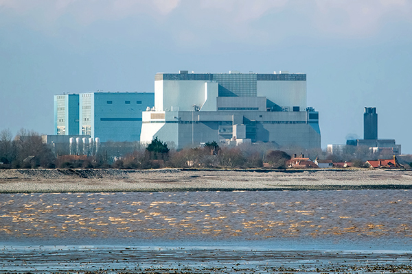 Hinkley Point nuclear power station in Somerset, UK. Photograph: Joe Golby/123RF