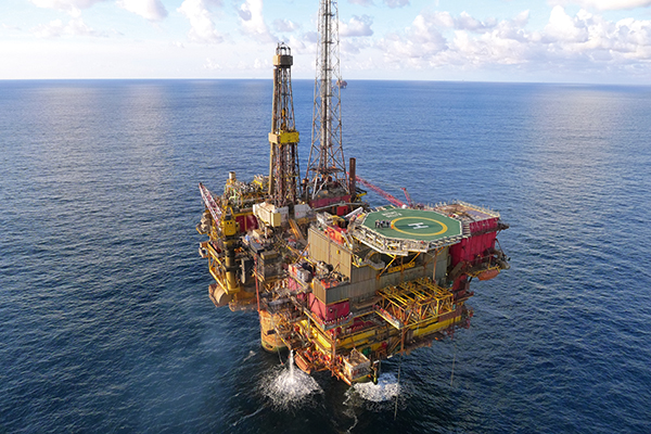 Work on decommissioning the Brent Delta platform is expected to start this summer. Photograph: Royal Dutch Shell