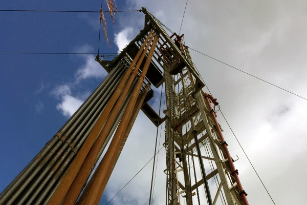 UKOG's Horse Hill site, near Gatwick Airport, was drilled in 2014. Photograph: UK Oil & Gas Investments