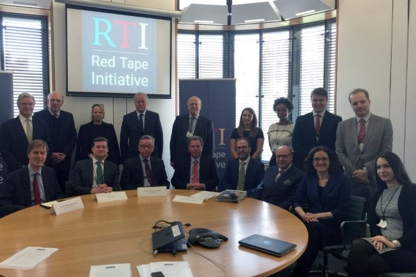The Red Tape initiative is supported by a number of former and serving MPs, alongside six QCs.