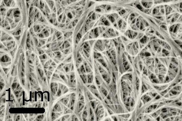 Bundles of carbon nanotubes. Photograph: CC BY-SA 3.0