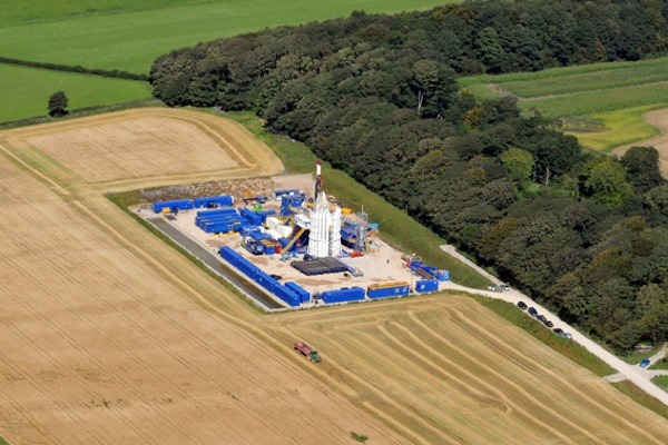 Cuadrilla Resources' Preese Hall fracking site