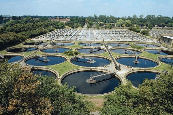 Thames Water was fined £18.4m in total for missing environmental targets. Photograph: Thames Water