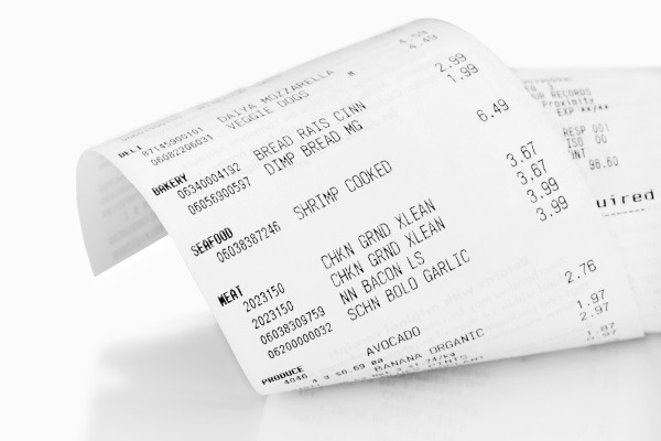 Receipts printed on thermal paper form a major route of exposure to BPA
