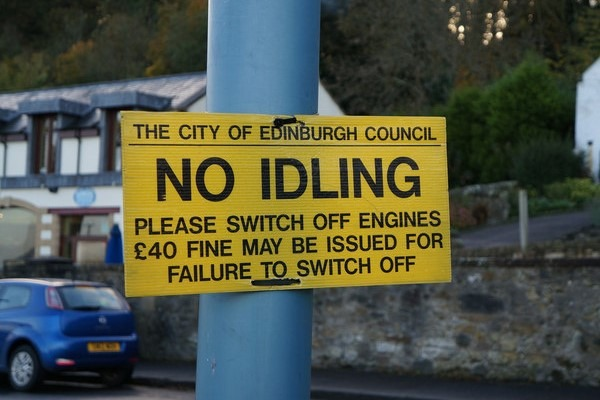 Signs like this will become more common if the local councils abide by the guidance. Photograph: Ian S CC BY-SA 2.0