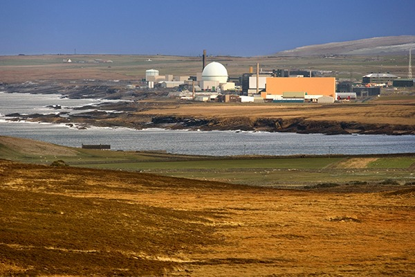 Dounreay on the north coast of Caithness, Scotland. Photograph: Steve AllenUK/123RF