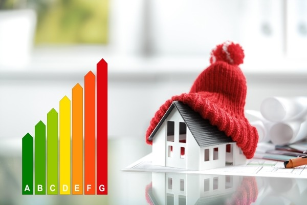 Domestic heating emissions are rising. Photograph: foodandmore/123RF