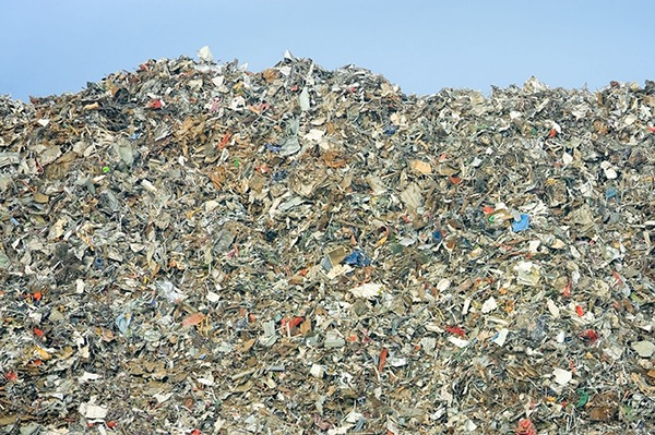 The site is thought to contain around 1.2m tonnes of waste. Photograph: Steve Mann/123RF