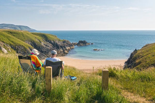 Porth Iago beach, Wales. Picture: Crown copyright 2014 Visit Wales