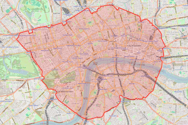 Entering Central London's congestion charging zone will cost almost double for owners of older vehicles from 23 October. Photograph: ed g2s CC BY-SA 2.0