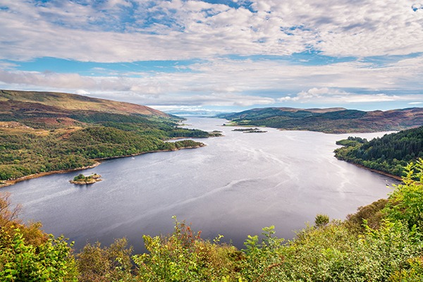 Loch Riddon and Isle of Bute in the Firth of Clyde. Photograph: David Ronald Head/123RF