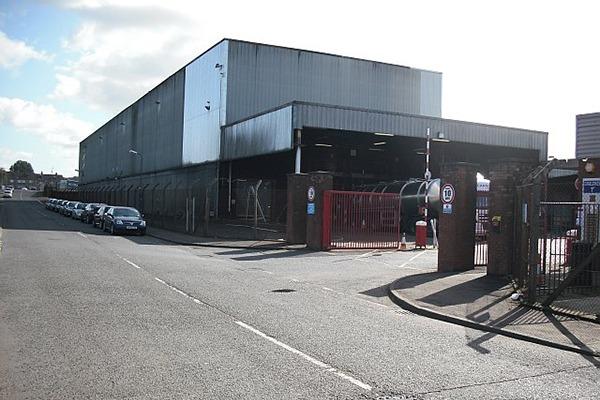 The old Johnnie Walker bottling plant. Photograph: Richard Webb/geograph.org.uk