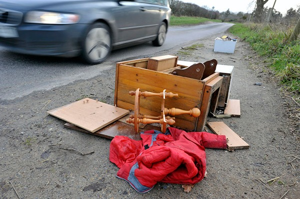 Since 2013/14 the number of fly-tipping incidents has increased year on year. Photograph: Graham Corney/123RF