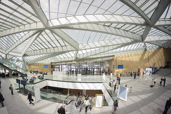 Bonn's World Conference Center will host COP23. Photograph: UN