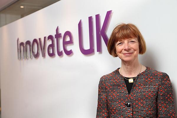 Dr Ruth McKernan. Photograph: Innovate UK
